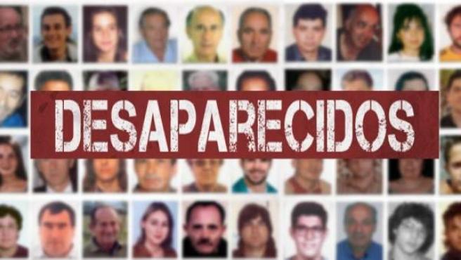Imagen de desaparecidos en España.