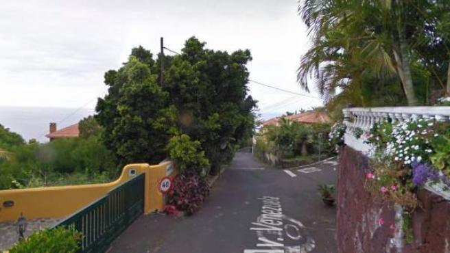 La colisión se produjo contra una vivienda de la calle Venezuela, en el municipio de Santa Úrsula.