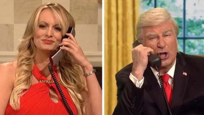 Martin Short y Stormy Daniels se apuntan a la 'Infinity War' de Trump