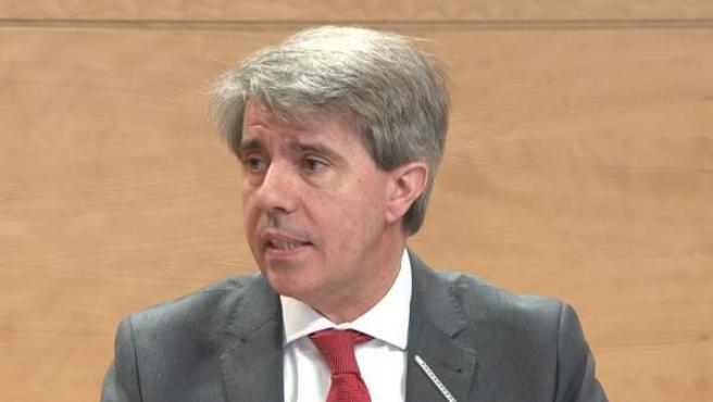 Garrido, presidente en funciones de la Comunidad y propuesto por el PP como candidato a la investidura.