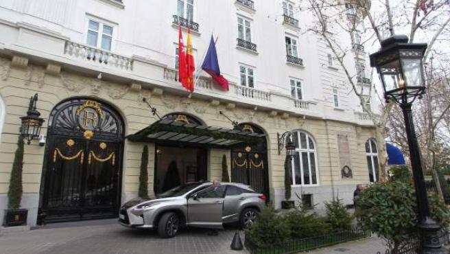 imagen del hotel Ritz en Madrid.