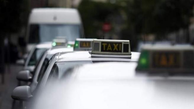 Imágenes de archivo del taxi.