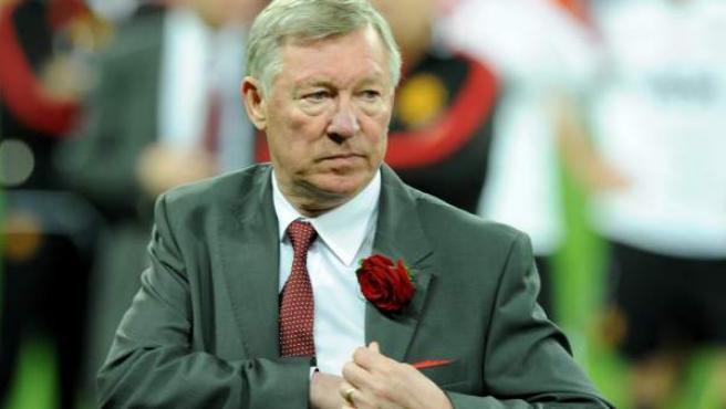 Alex Ferguson, entrenador del Manchester United.