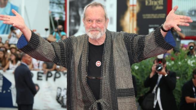 El director Terry Gilliam en el Festival de Venecia de 2015.