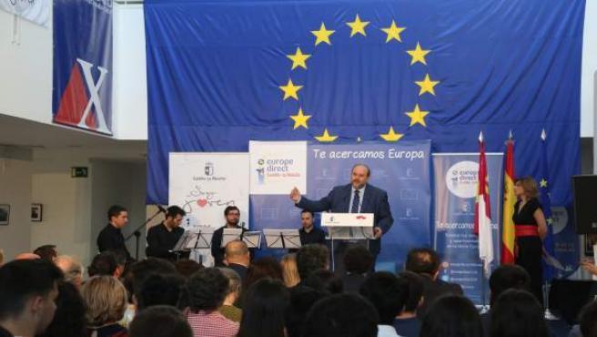 Martínez Guijarro en el acto del Día de Europa