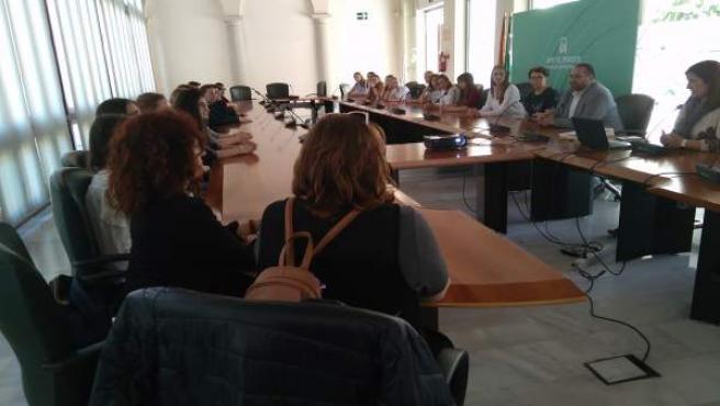 Jornada con estudiantes y docentes de cuatro países en Granada