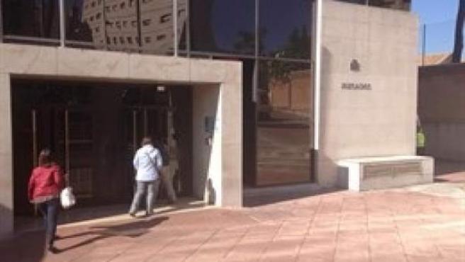 Edificio judicial de La Caleta de Granada