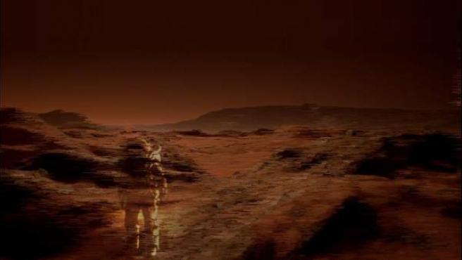 Cartel de 'Marte. La conquista de un sueño'