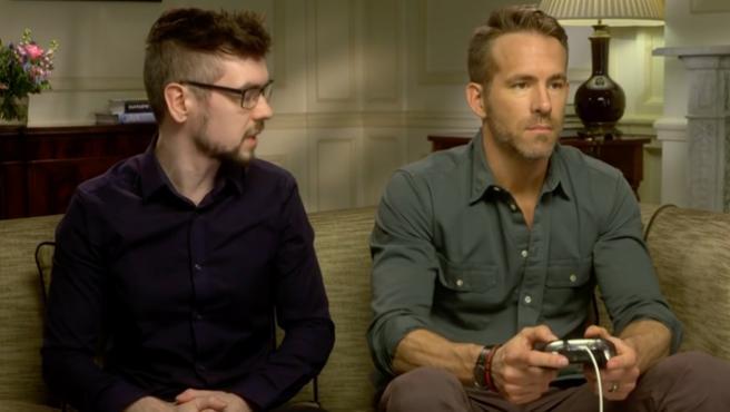 [Vídeo del día] Nadie peor que Ryan Reynolds jugando a 'Deadpool'