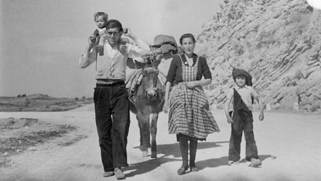 De la serie 'Cuenca', años 1950 © Carlos Saura