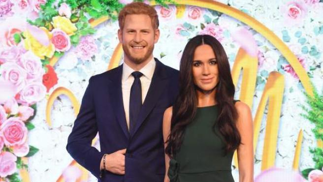 Meghan Markle y el príncipe Harry ya tienen sus figuras de cera en el Madame Tussauds de Londres.