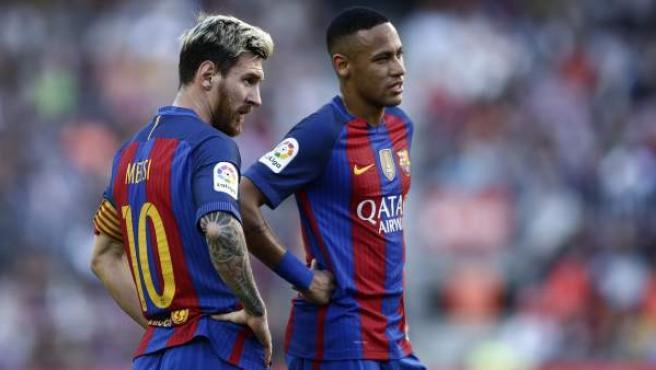 Leo Messi y Neymar Júnior, en una imagen de archivo.