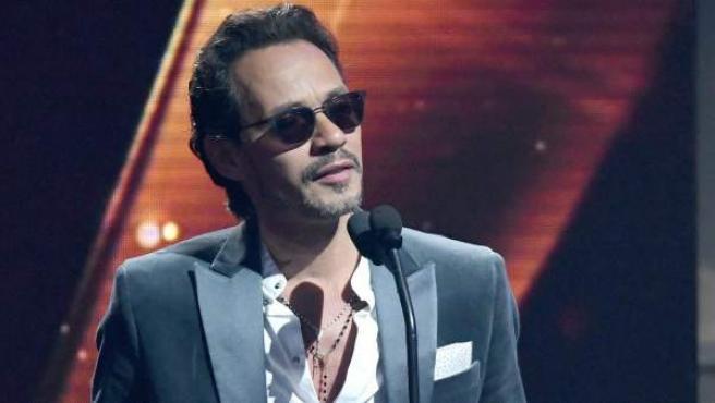 El cantante puertorriqueño Marc Anthony, en una entrega de premios.