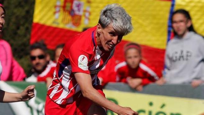 Sonia Bermúdez, delantera del Atlético de Madrid.