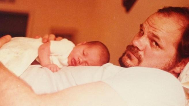 Thomas Markle, con su hija Meghan.