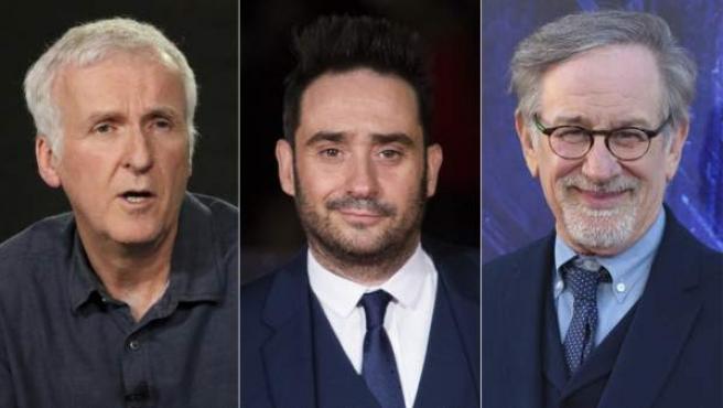 James Cameron, Juan Antonio Bayona y Steven Spielberg.