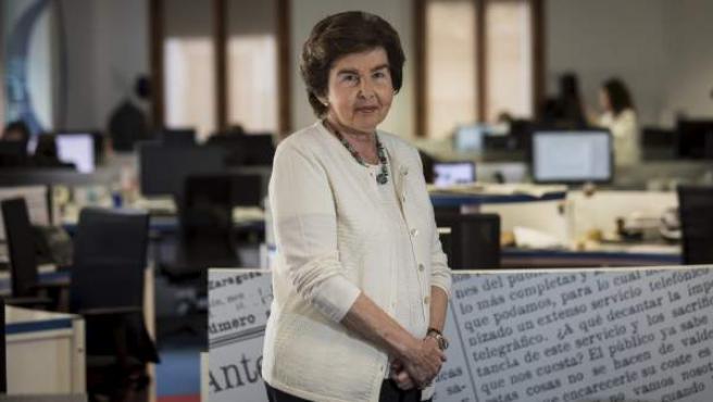 Pilar de Yarza, presidenta-editora de HERALDO DE ARAGÓN.