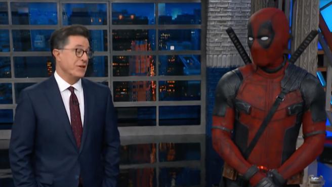 Ryan Reynolds interrumpe The Late Show y Thanos le juega una mala pasada