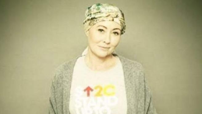 La actriz Shannen Doherty, en su batalla contra el cáncer.