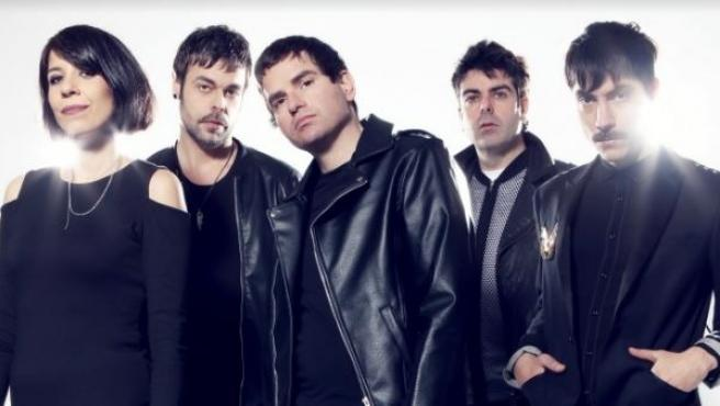 Los integrantes del grupo Dorian
