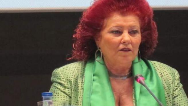 Consuelo Ciscar en imagen de archivo