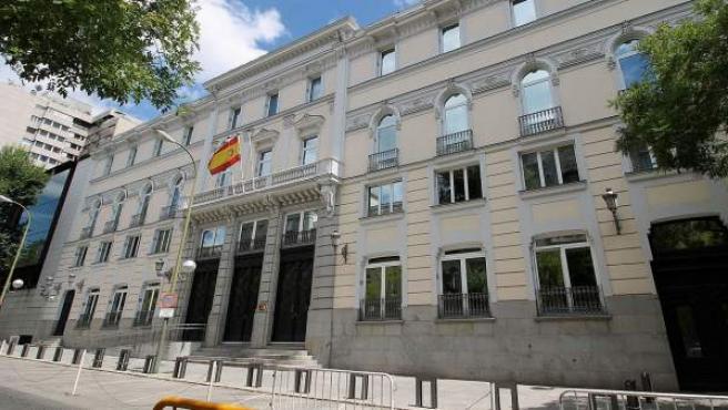 Imagen de la sede del CGPJ en Madrid.