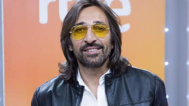 Antonio Carmona, durante la presentación del programa 'Fantastic Duo', en el que participó.