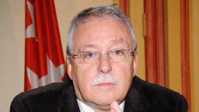 Joaquín Leguina, expresidente de la Comunidad de Madrid.