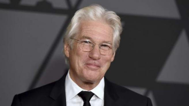 Richard Gere en los Governors Awards 2017.