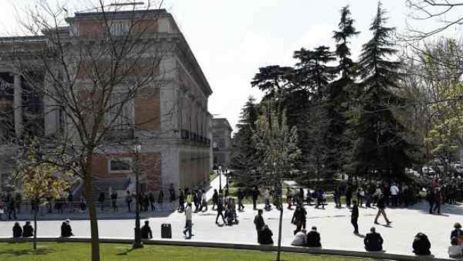 El Museo del Prado, en Madrid