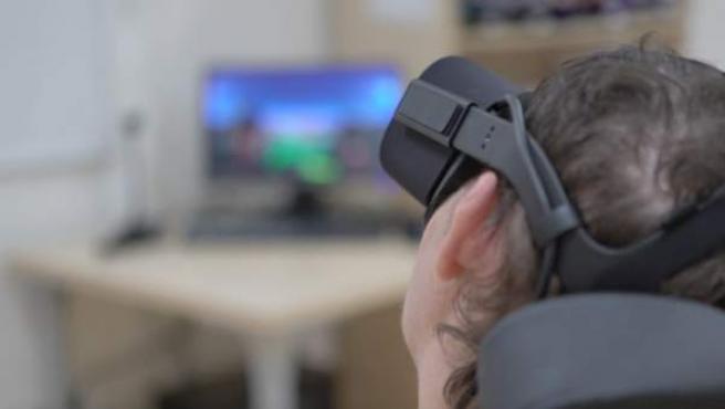 Sistema de realidad virtual multisensorial de Vithas