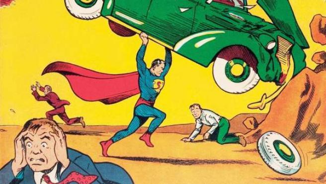 Portada del 'Action Comics #1', la publicación en la que se produjo la primera aparición de Superman.
