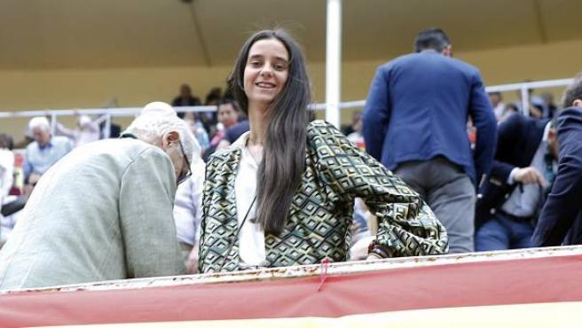 Victoria Federica de Marichalar, en Las Ventas este 24 de mayo por la Feria de San Isidro 2018.