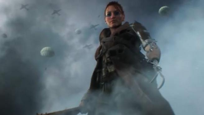 Fotograma del tráiler de 'Battlefield V'.