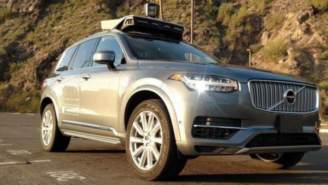 Un vehículo autónomo Uber en Tempe (Arizona).