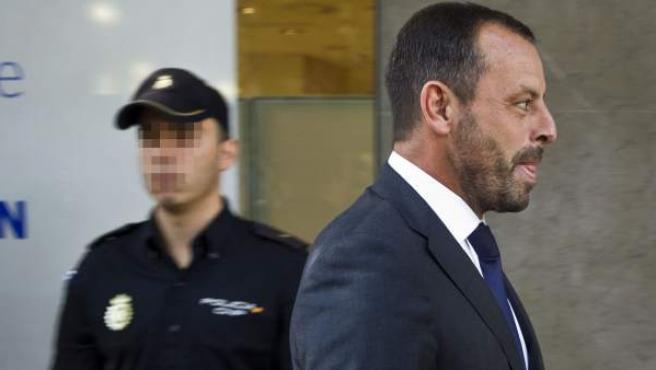 El expresidente del Barcelona Sandro Rosell, en una imagen de archivo.