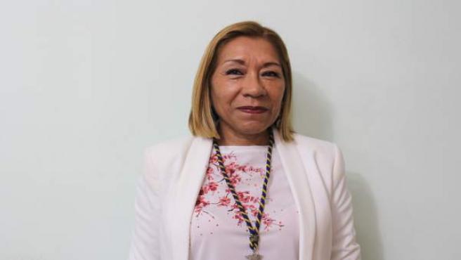 La concejal en el Ayuntamiento de San Juan de Aznalfarache, Gina Barreto (PSOE)