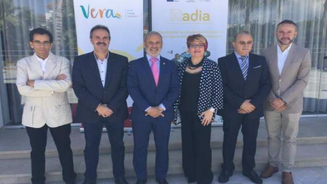 [Grupoalmeria] Fwd: Nota Prensa Famp Jornada Turismo Vera