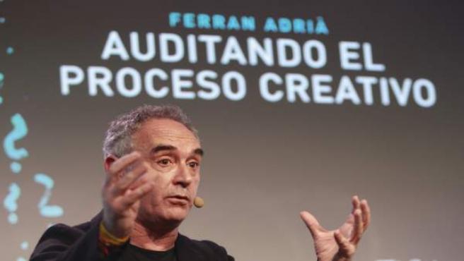 Ferran Adrià, auditando el proceso creativo