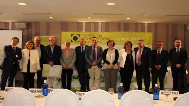 Reunión Arroyo y Cooperativas Agroalimentarias de C-LM