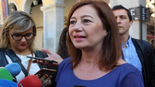 La presidenta del Govern, Francina Armengol, en una imagen de archivo