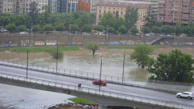 El río Segre, en Lleida