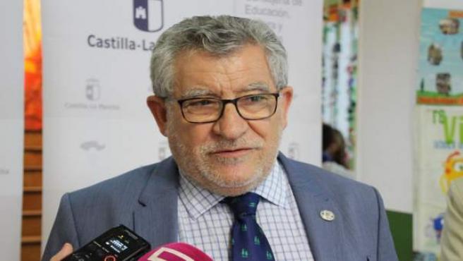 Consejero de Educación, Ángel Felpeto, en Albacete