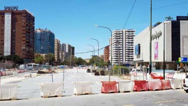 Obras metro de Málaga