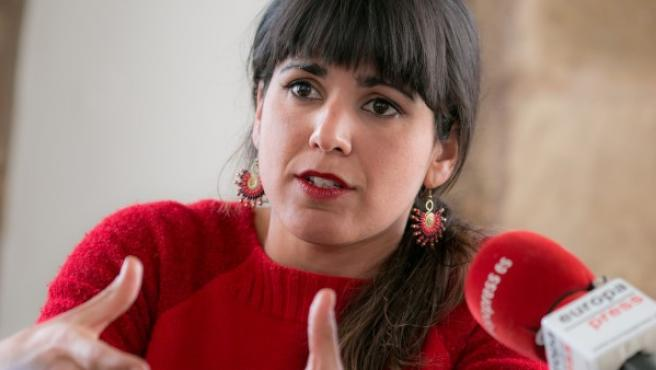 Teresa Rodríguez, líder andaluza de Podemos.