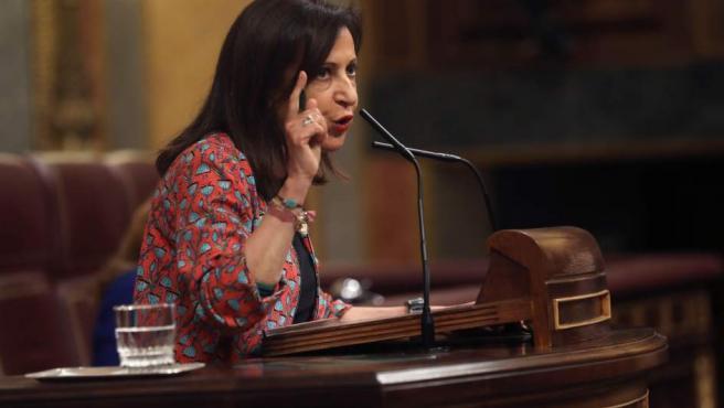 Margarita Robles, nueva ministra de Interior.