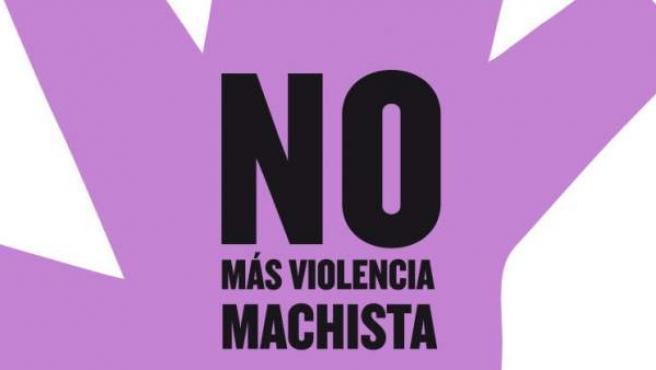 Logotipo contra la violencia machista.