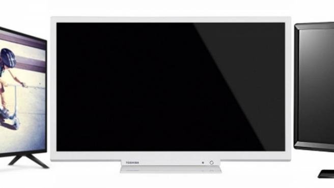 Modelos baratos de televisores Philips, Toshiba y LG.