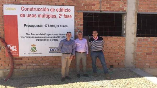 Obras en edificio de usos múltiples de Castil de Campos