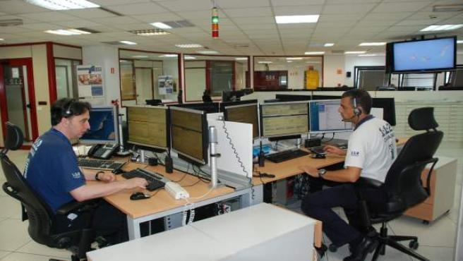Sala Operativa del CECOES 1-1-2 Canarias